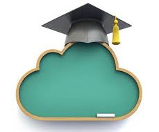 cloud and grad hat